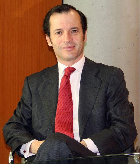Banco Santander SA Chief Executive Officer Javier Marin