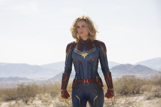 'Captain Marvel'Powers Theater Ticket Sales for Second Weekend