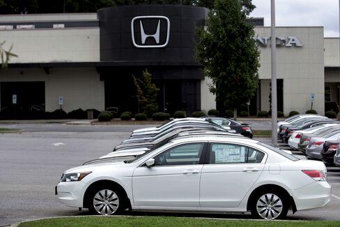 Honda Prays for Disaster-Free U.S. Rebound Led by New Models