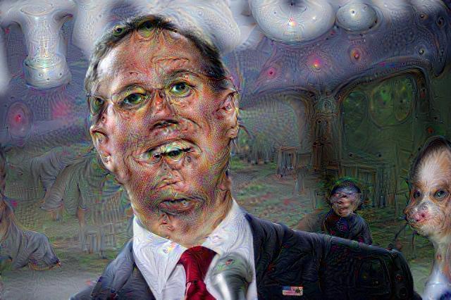 Rick Santorum, DeepDream
