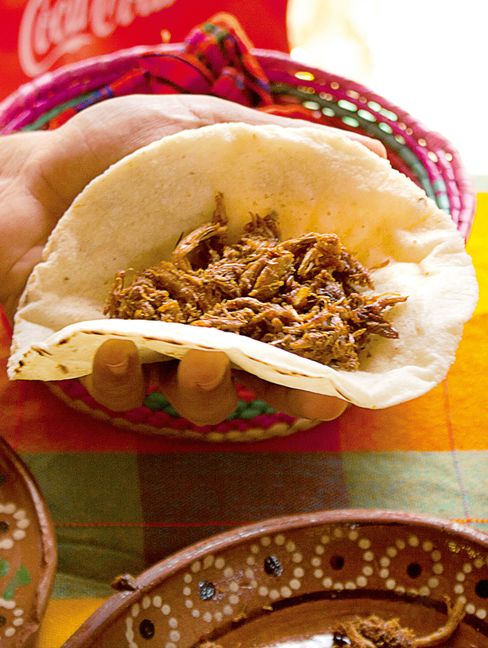Chilorio tacos.