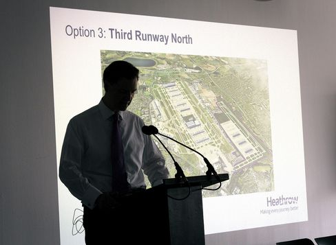Heathrow's Development Director John Holland-Kaye