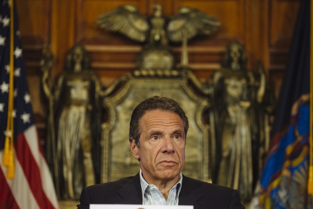 Cuomo Groped Female Aide in Governor's Residence, Report Says thumbnail