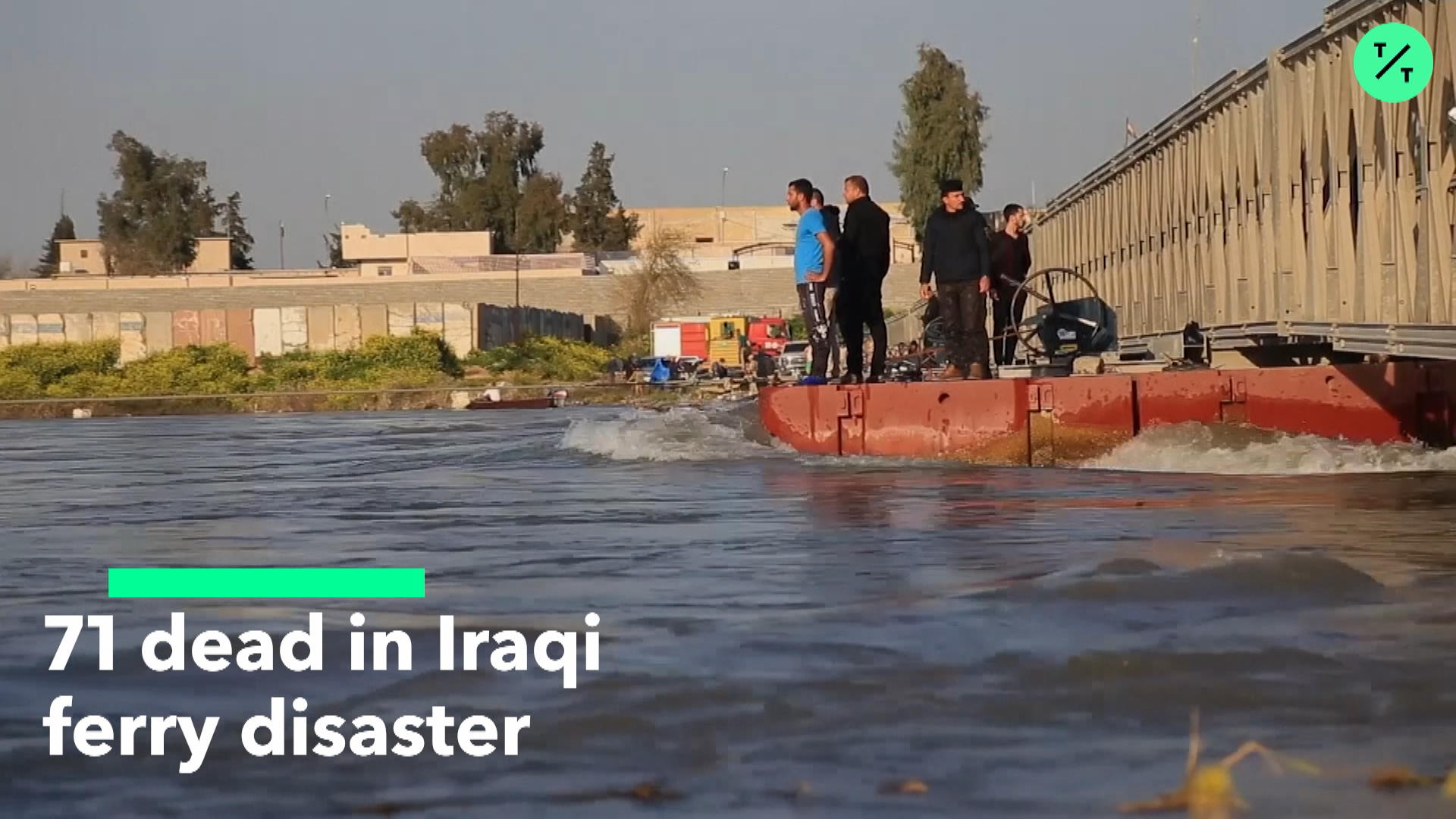 71 Dead in Iraq Ferry Disaster