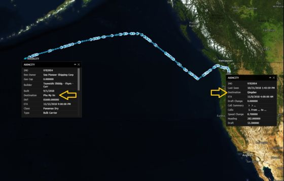 Ship With U.S. Soybeans Changes Course From China to Vietnam
