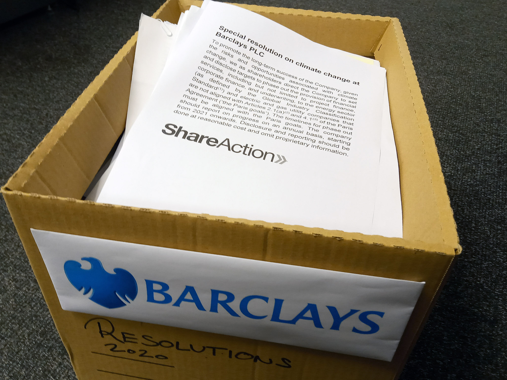 relates to Targeting Barclays, Climate Activists Fight Their Way to Draw