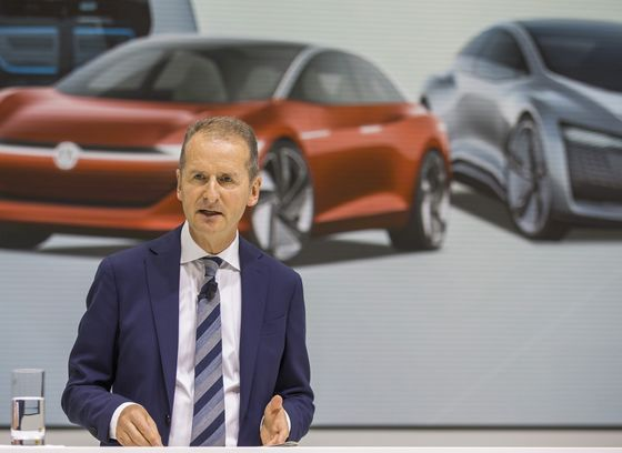 VW CEO Warns of Higher Than Expected Electric Car Costs