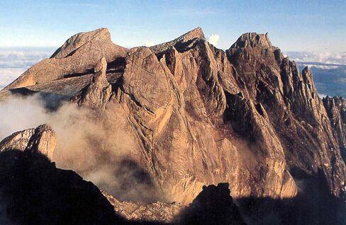 Mount Kinabalu Borneo.