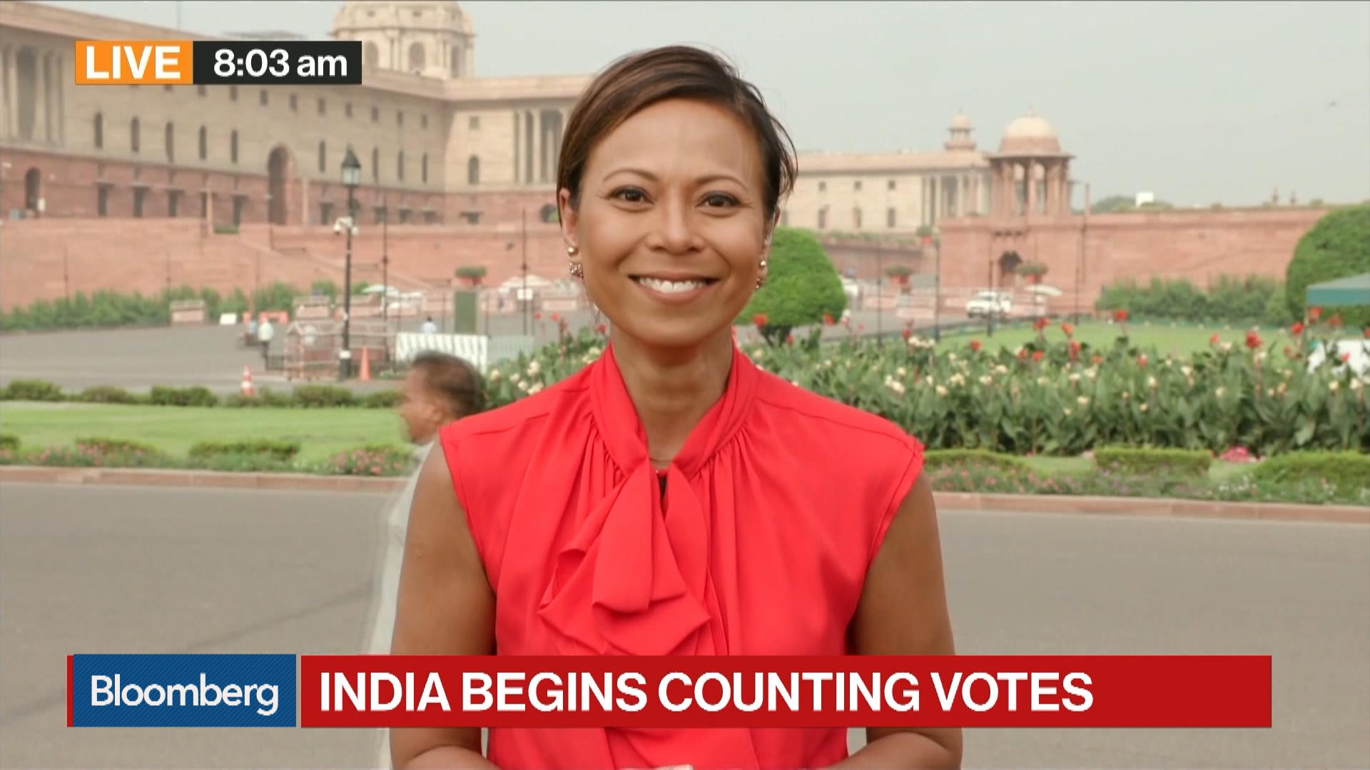 India Begins Counting Votes