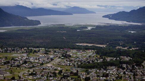 Douglas Channel in British Columbia.