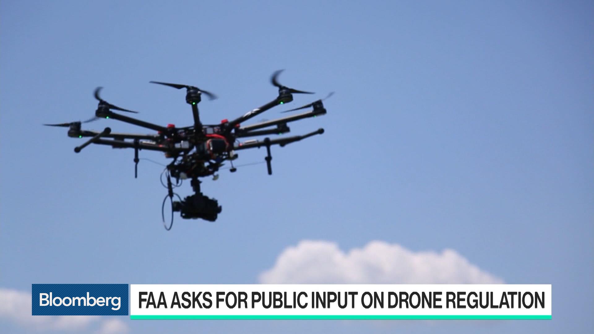 Groundbreaking U S  Plan Would Permit Drone Flights Over