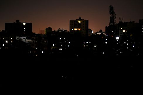 Power cuts in Cairo