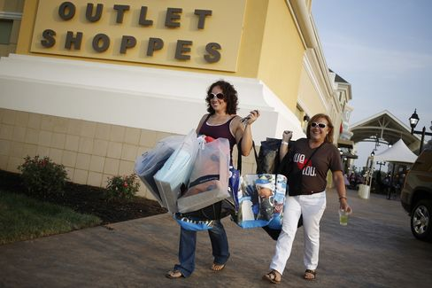 Consumer Spending in U.S. Rose in June by Most in Three Months
