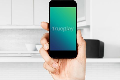 You can set up Trueplay by using your smartphone or tablet,withno additional hardware required.