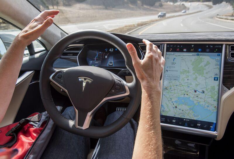 2018 tesla autopilot. simple tesla a member of the media test drives a tesla motors inc model s car in 2018 tesla autopilot