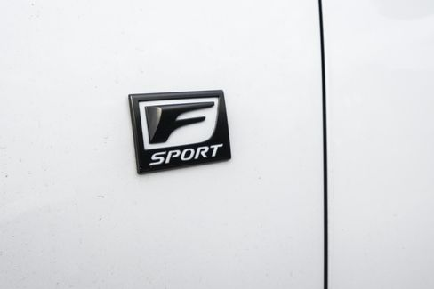 Additional badging is included when you buy the F Sport package.