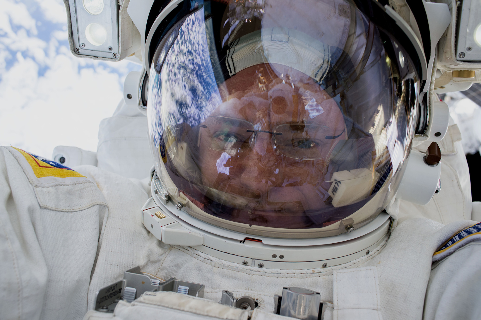 Spacewalk Selfie 2.0