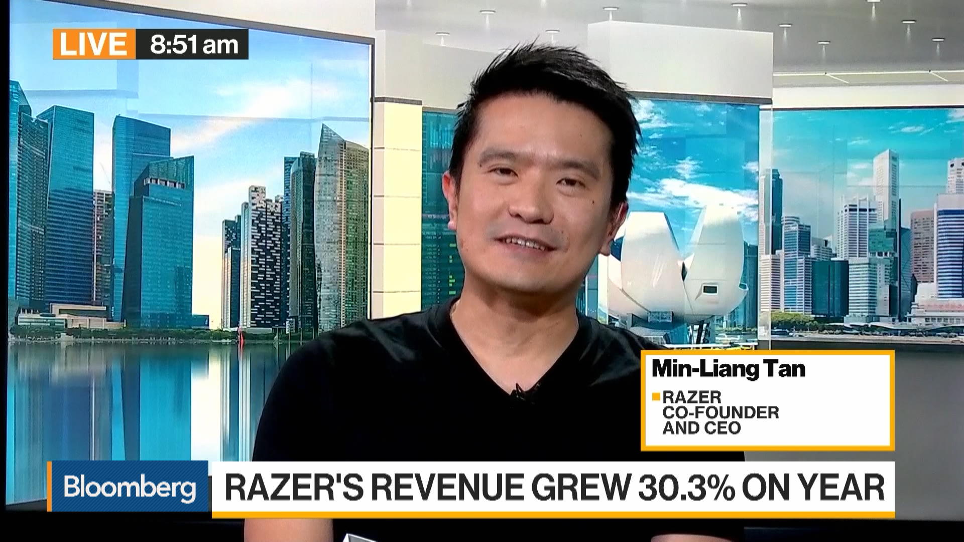 Razer CEO Min-Liang Tan on Earnings, Tencent Partnership, Cloud Gaming, Fintech