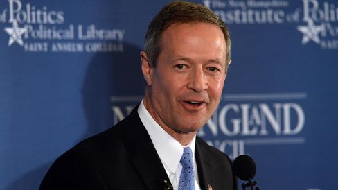 Martin O'Malley Speaks At