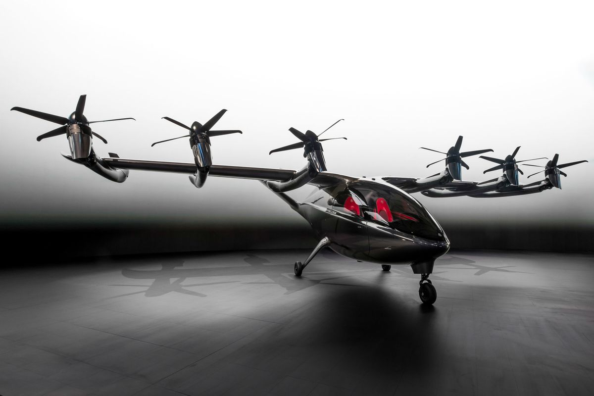 <p>Flying Taxis Get Commercial Boost as Airlines Buy Into Startups thumbnail