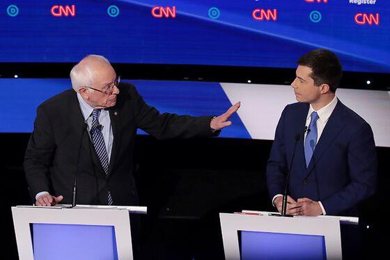 Buttigieg, Sanders Take Iowa Feud to New Hampshire Stage Tonight
