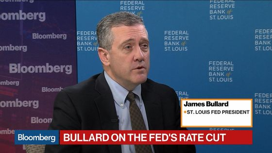 Fed's Bullard Says Don't Put Much Weight on March Meeting Cut