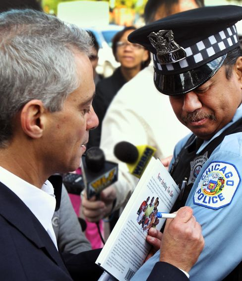 Rahm Emanuel's Uneasy Relationship with Unions
