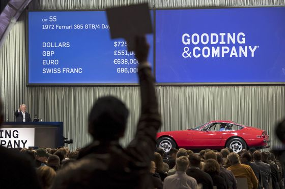 While Used Cars Pile Up in Lots, the Classics Are Busy Changing Hands