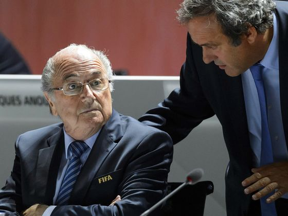 Fifa Sues Blatter, Platini for $2 Million Over Payment