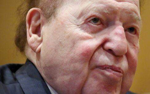 Las Vegas Sands Corp. Chairman Sheldon Adelson
