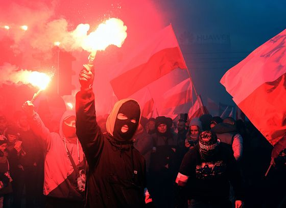 Poland Feuds Over 100th Birthday as Nationalist March Banned