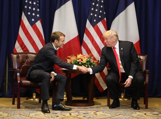 Trump and Macron Hold Constructive Meeting on Iran, Trade