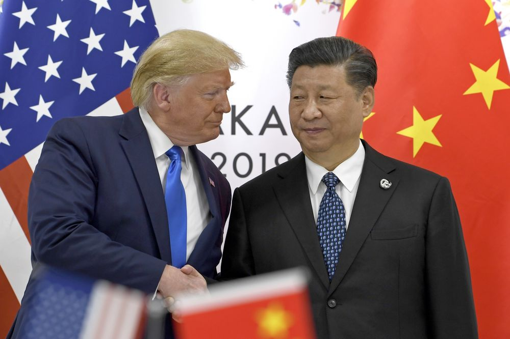 Image result for donald trump and xi meeting