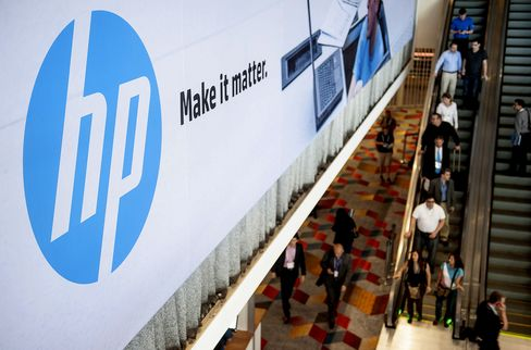 Hewlett-Packard Profit Forecast Misses Estimates on PC Slump