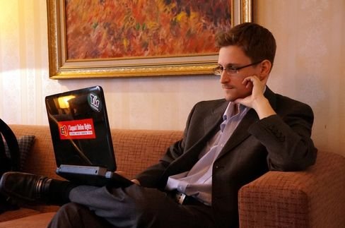 Former Intelligence Contractor Edward Snowden