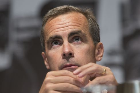 Carney Strengthens Rate-Increase Bias on Debt Concern: Economy