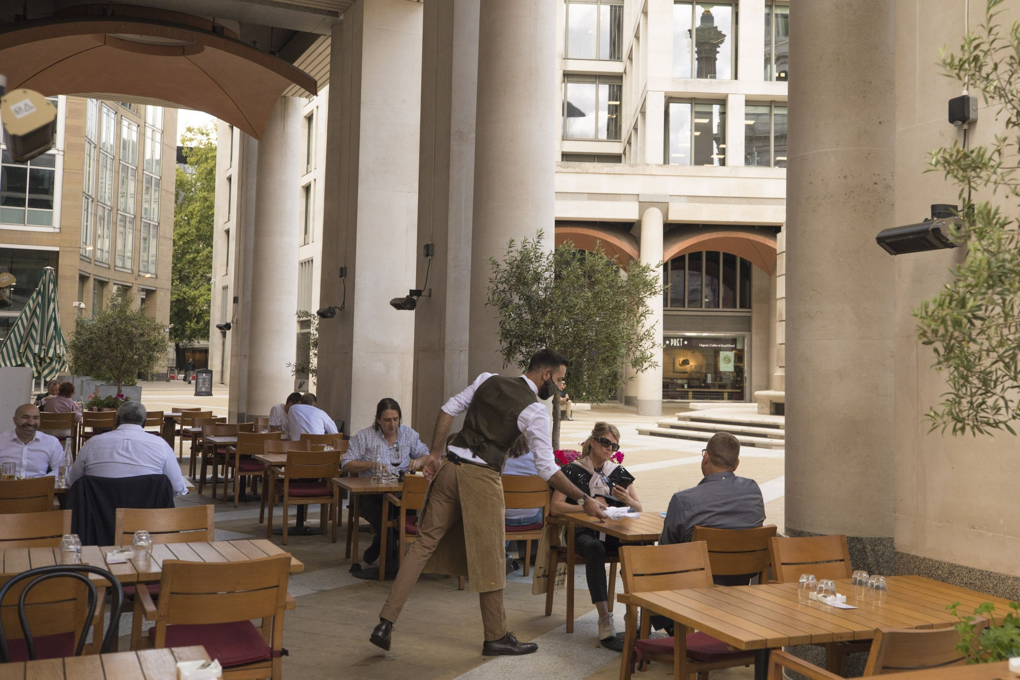 Restaurants Get Creative To Entice Back Diners With Subsidy