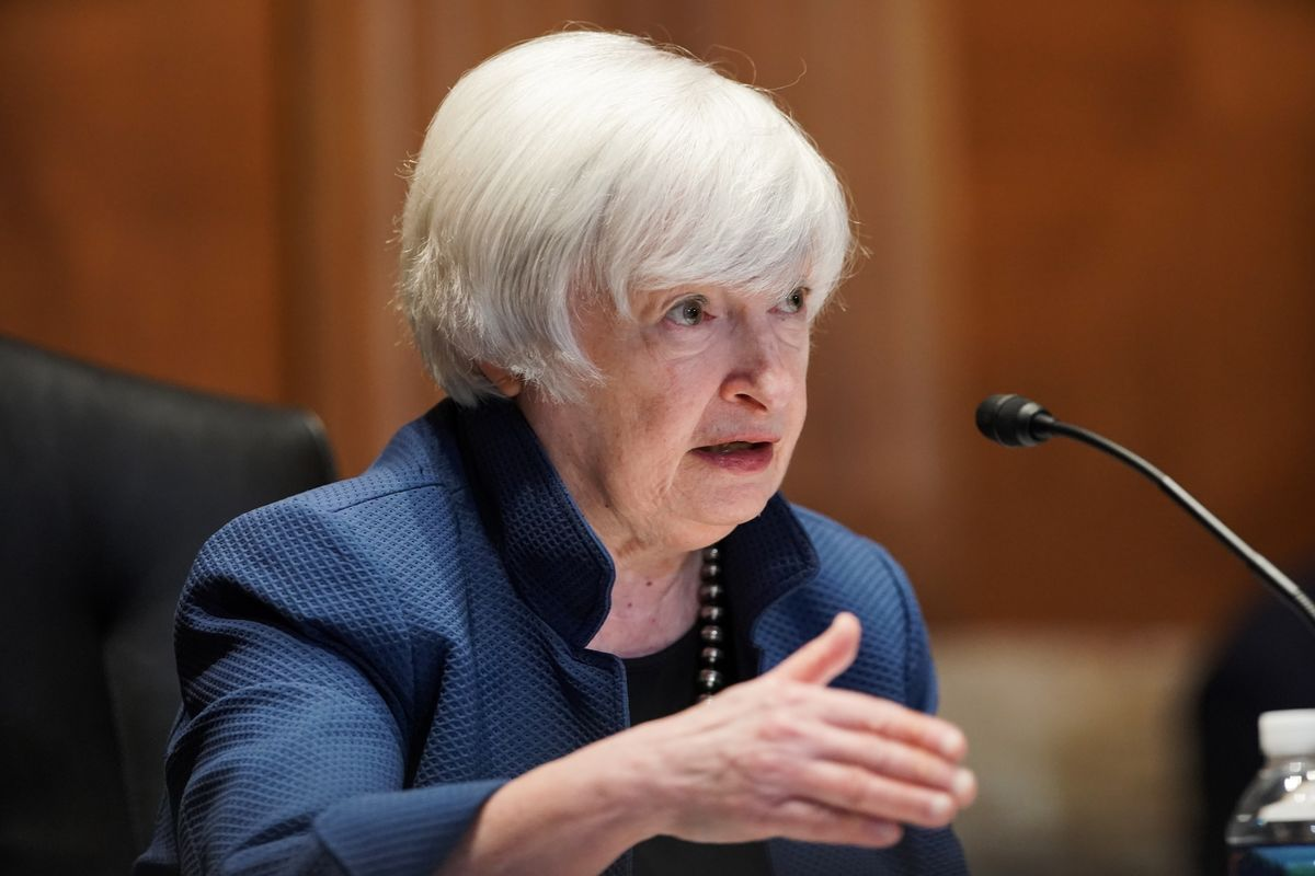 Yellen Sees Inflation In Line With Fed's Goal by End of Year