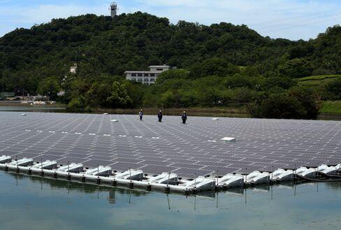 Kyocera solar plant