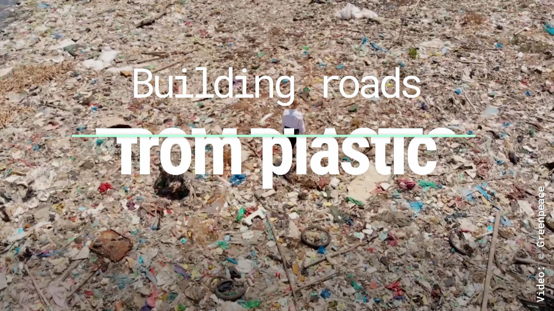 Building Roads From Plastic
