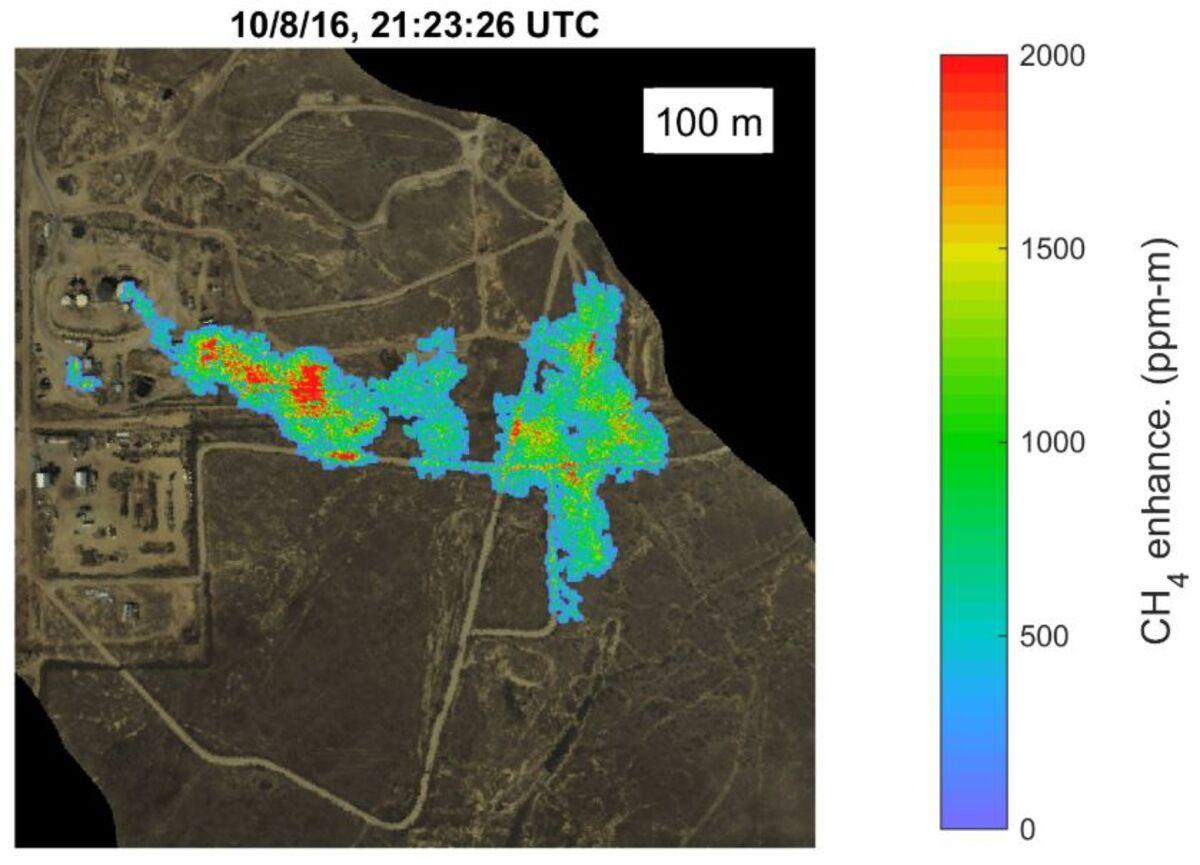 NASA Flew Gas Detectors Above California, Found 'Super Emitters'