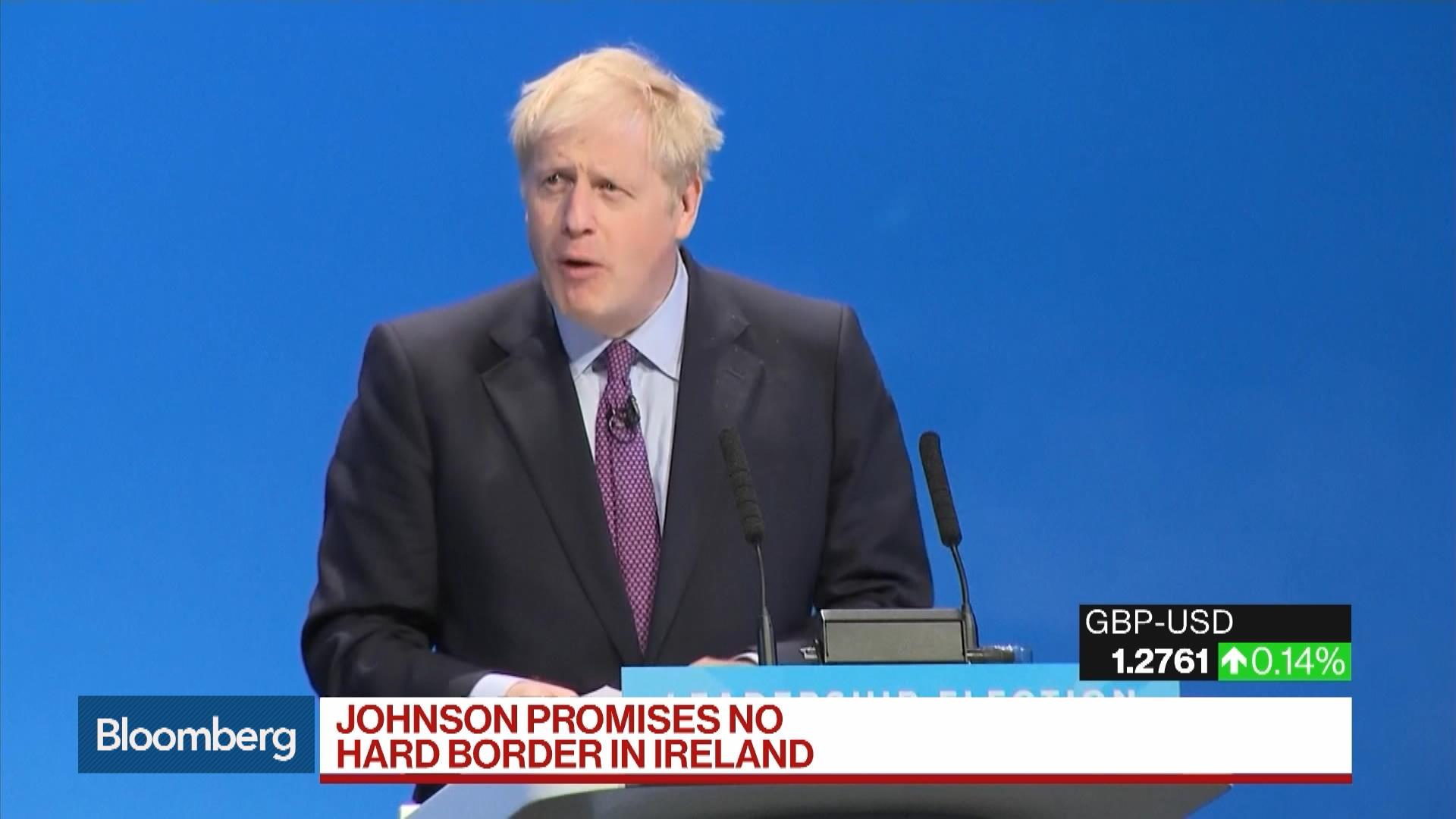 Boris Johnson Again Pledges Oct. 31 Brexit in Radio Interview