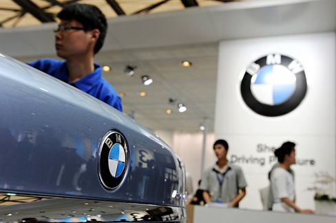 BMW Revs Up in China, Chasing Audi