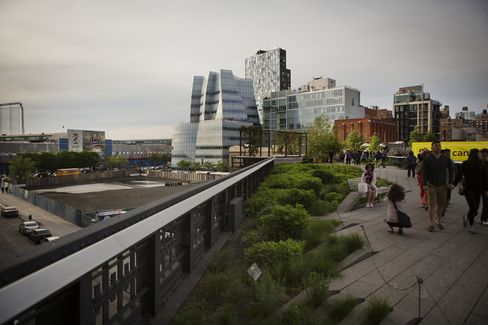 View of Site from High Line
