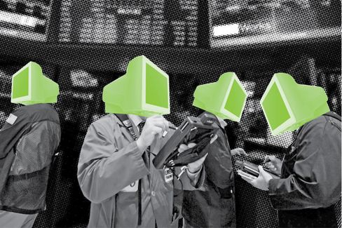 Computers Elbow Swaps Traders Aside
