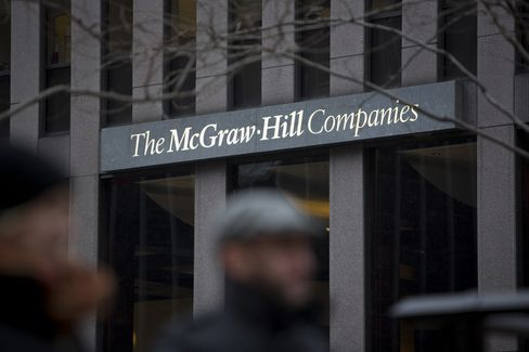 McGraw-Hill Facing Fraud Case Poised to Show Best Year Since '07