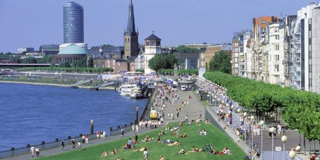 No. 5 Best Quality of Life (tie): Düsseldorf, Germany