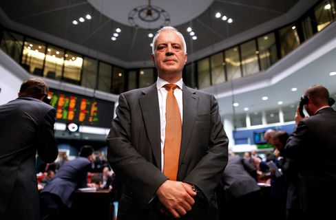 London Metal Exchange CEO Martin Abbott