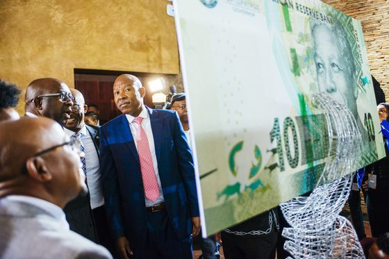 Kganyago Warns of Perils of Inflation as Mandela Notes Unveiled