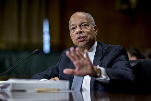 Homeland Security Secretary Jeh Johnson Testifies On At Senate Judiciary Committee Hearing
